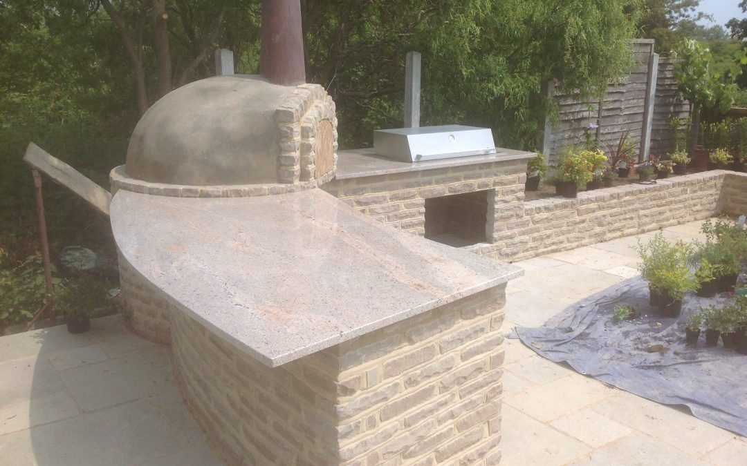 Recent Project: Stunning granite BBQ area